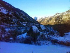 Asturias, bajo un manto de nieve