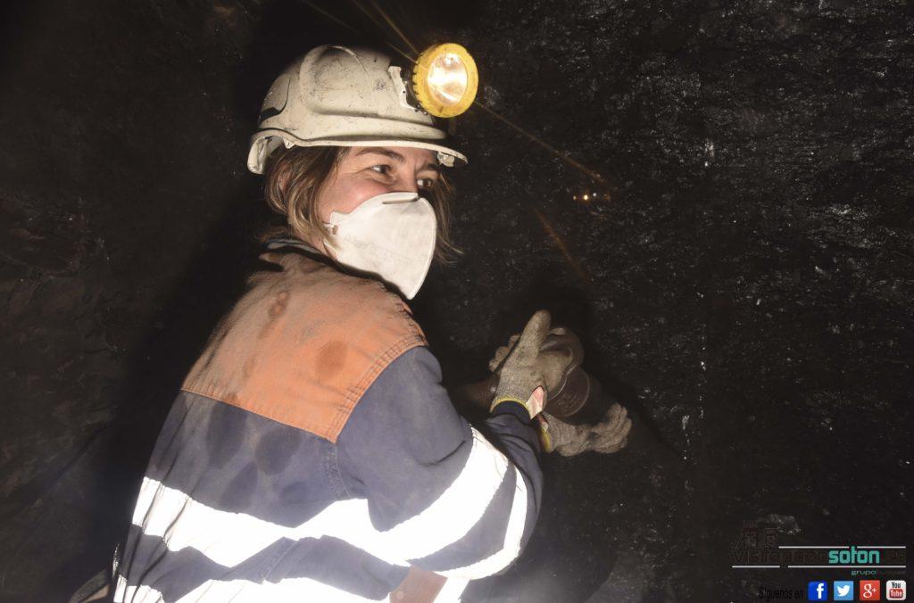 Minera por un día